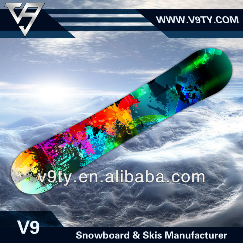 2016 Best Seller Good Quality OEM Cheap Wooden Snowboard