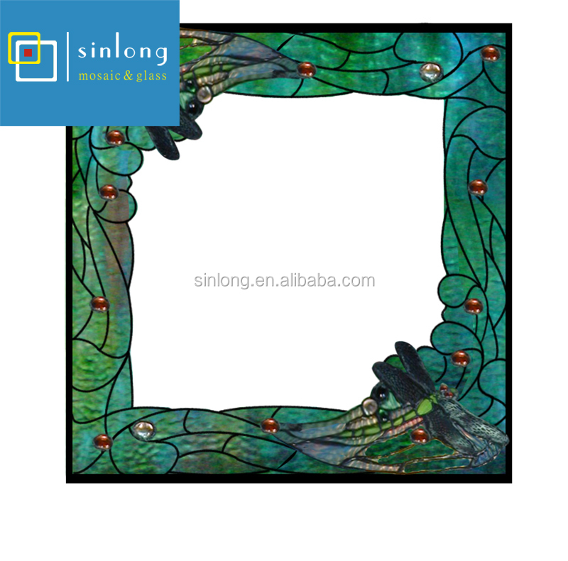 Tiffany Style Stained Glass Frames For Home Decoration View Stained