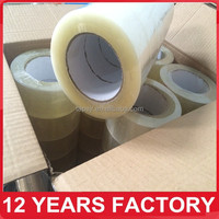 Clear BOPP Low Noisy Adhesive Packing Tape