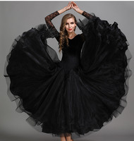 New Coming Elegent Long Evening Dresses High Quality Ballroom Dance Wear