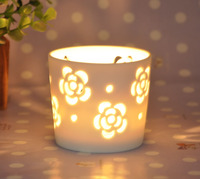 wholesale ceramic candle cup warmer cup