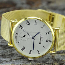 2016 Alloy mesh metal hot sale men's watches