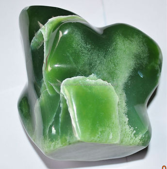 tumbled polished NEPHRITE JADE ROUGH
