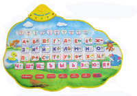 Russian electronic musical mat toys for kids