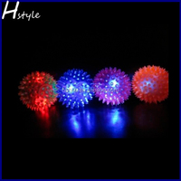 Crazy Children Flashing Led Spike Ball SL004