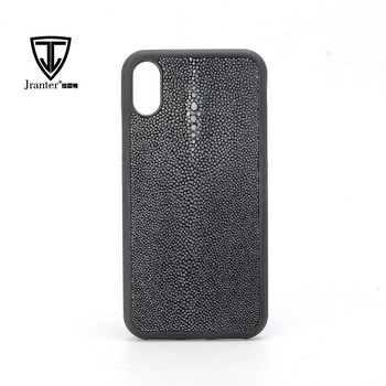 Real Stingray Leather Coverd Phone Case