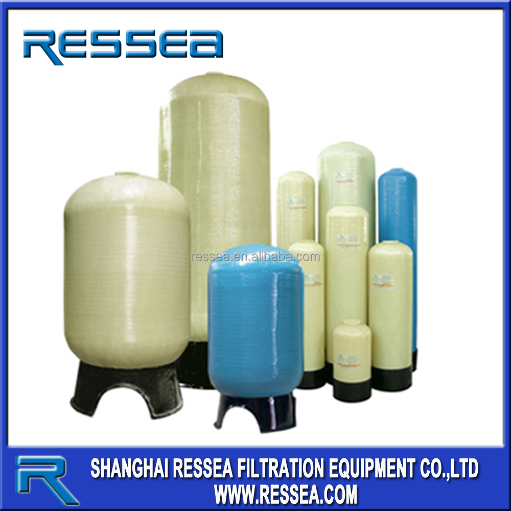 FRP water softener tank /quartz sand for pressure vessel