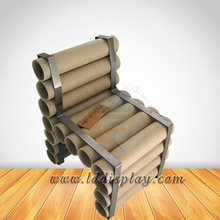 Custom corrugated cardboard chair design