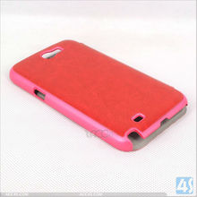 For Samsung Note 2 Leather Flip Cover Case P-SAMN7100CASE049