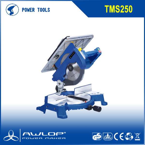 250mm Two Functions Compound Mini Table Saw Mitre Saw