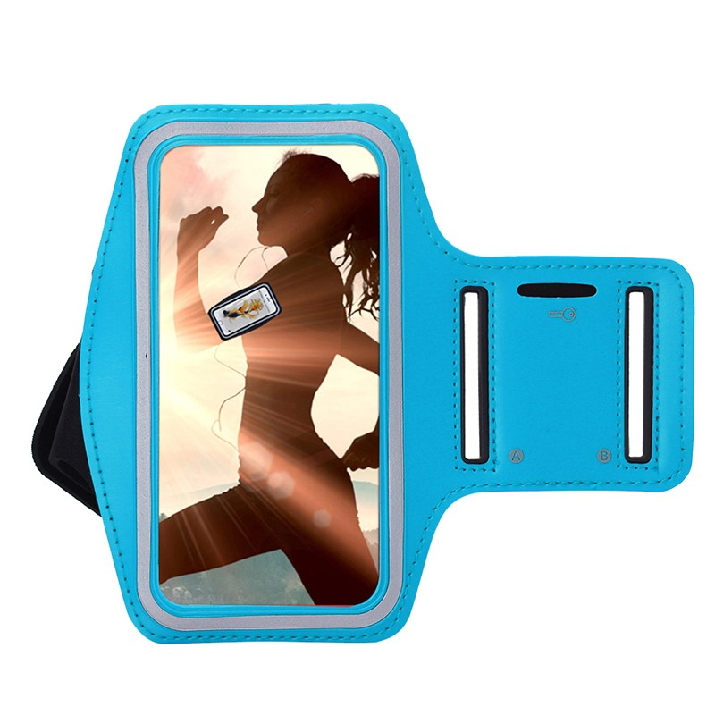 Real Phone Size custom mobile phone running sport armband