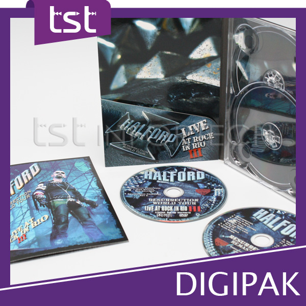 Design & Printing Double Tray DVD Case
