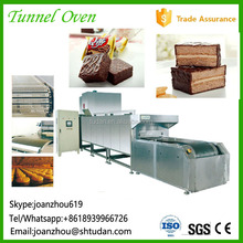 Food industry equipment baked tunnel oven sandwich pie food machinery