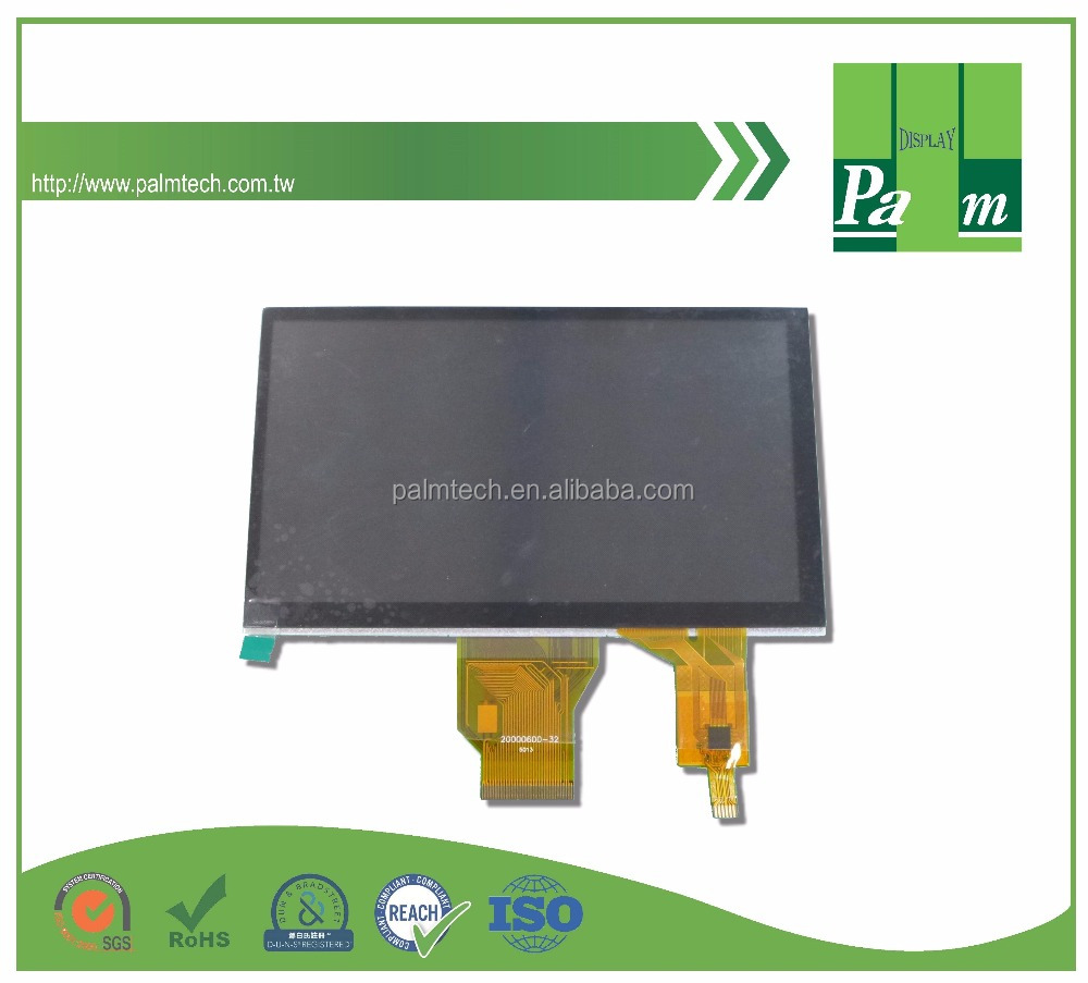 E901 7 inch 800x480 TFT with capacitive touch screen LCD module