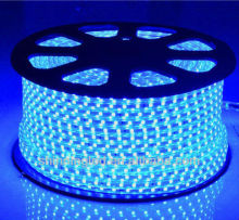 3528-60L-High Voltage SMD LED Strip Light - blue - economic