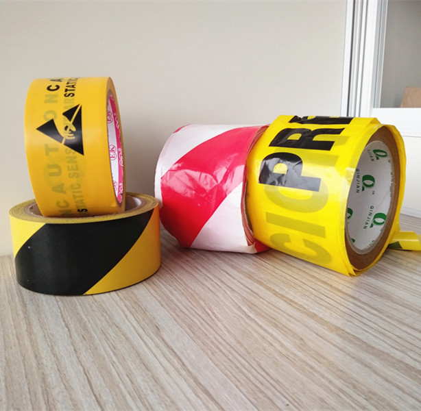 Static sensitive underground detectable warning tape