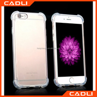 2016 Fashionable Air Cushion Explosion Proof Drop Resistance Soft TPU Transparent Case For iPhone 5/5s
