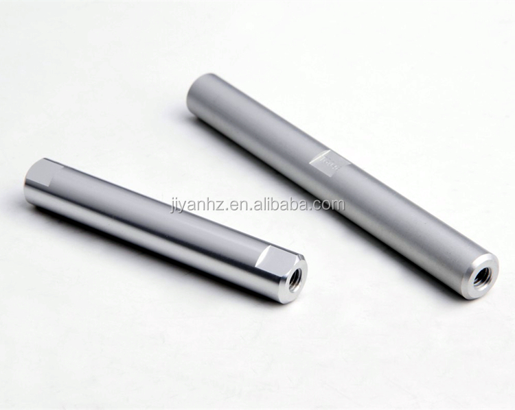 OEM Aluminum High quality through hole factory shaft machining service