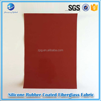 Woven food-grade non-slip corrosion insulation silicone fabric