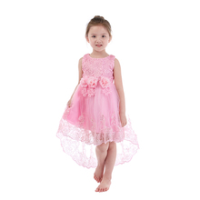 2018 <strong>girl's</strong> <strong>dress</strong> lace evening <strong>dress</strong> wholesale kid clothes summer lace <strong>dress</strong>