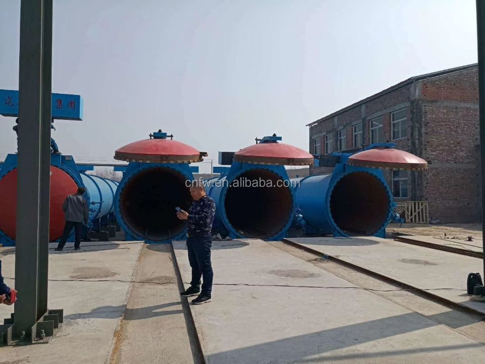 20000CBM per year Autoclaved Aerated Concrete (AAC) block plant factory price