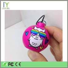 2015 best design mini water dancing speaker wearable speaker music mini speaker with usb charger