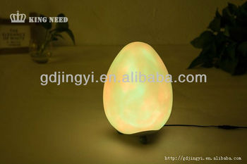 7colors changing with transformer led plastic easter eggs
