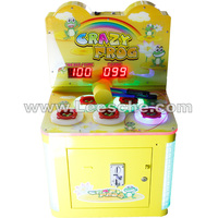 LSJQ-299 popular hot sale coin pusher Frog_Hitting amusement game arcade game with ticket counter TH1216