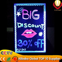 super brightness & catching eyes shops advertising panel led writing board 40*60cm 2016 new innovation