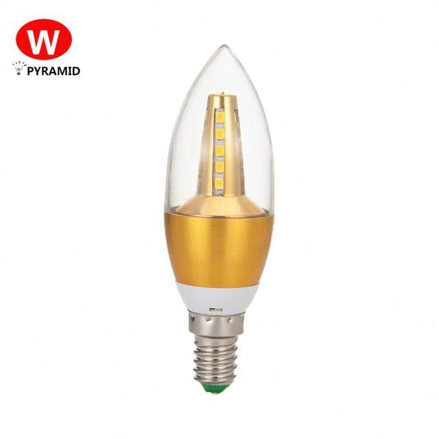 3W 5W E14 Led Candle Light Bulbs Eyeshield