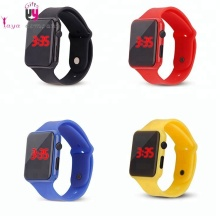 Silicone Electronic Wrist Watch Led Sports Watch