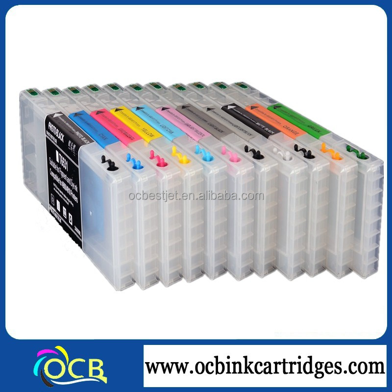 T6531 T6551 Empty Refillable Refill Ink Cartridge For Epson 4900 4910