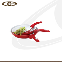 Commercial induction ceramic cookware