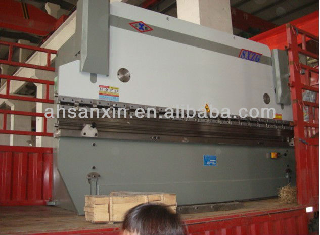2.5 meters Manual Plate Bender, Manual Fold-bend Machine, Press Brake Machine