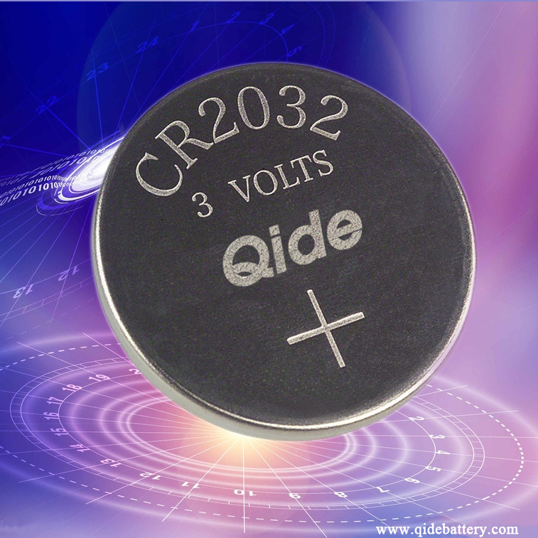 1 X Qide Cr2032 3v Lithium Coin Cell Battery 2032