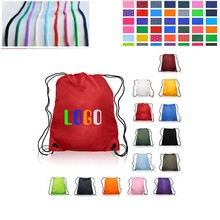 2015 China Wholesale Fashion Useful Polyester Drawstring Bag From Bag Make Machine