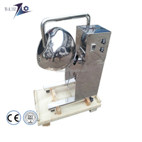 Small Tablet Film Coating Machine With