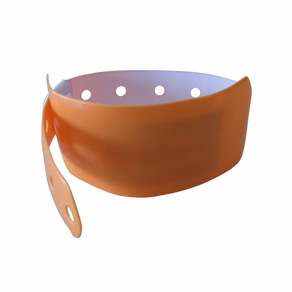 Disposable RFID Paper Bracelet/OneTime Used Band/Soft PVC NFC Wristband