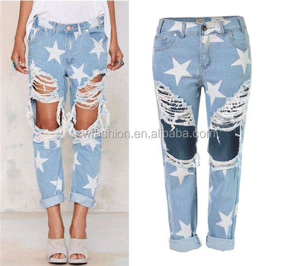 high quality women jeans 2016 jeans new designs photos wholesale price