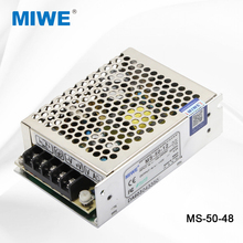 Mingwei dc switching power supply 50W 48V 48VDC 10 amp MS-50-48