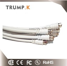2017 New white Trump-k rg9 coaxial cable with certificate