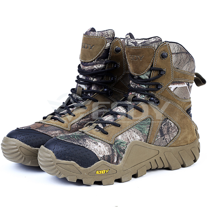 Outdoor Desert <strong>Boots</strong> U.S. Military Assault Tactical <strong>Boots</strong> Men Casual Hiking Shoes Botas Tacticas Jungle Camouflage