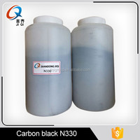 Pigment carbon black for ink,coating,plastic and PU leather with high dispersibility and blakness N330