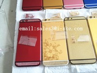 For iPhone 6 6 plus Luxury 24ct Gold Electroplating Housing Cover(Limited Edition)