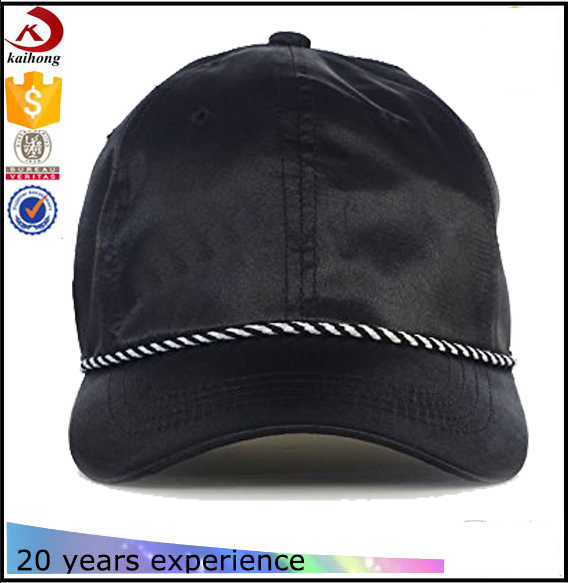 2017 New satin blank dad hat wholesale hats and caps custom