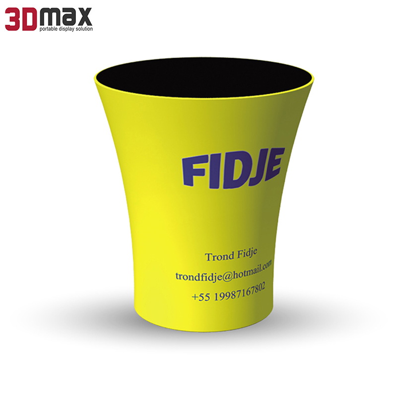 Portable advertising booth counter stand table for trade show exhibitions