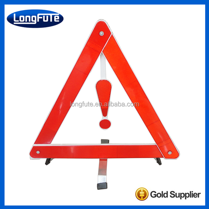 Safety Triangle / Reflective Car Safety Traffic Sign / Safety Warning Triangle