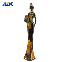 Promotion Gift Ornaments Young Figurine African Sculpture
