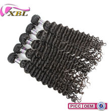 2015 XBL Wholesale Indian Virgin Loose Deep Hair Weave