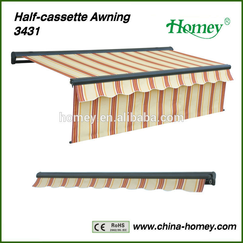 New Fashion! Homey 2014 Window Awning/Shelter 8300 with max 1.4m valance